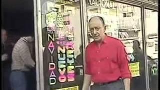 Alberto Olmedo, inédito video, el negro Olmedo detrás de cámaras