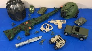 Box of Toys Toy Guns Military Toys Army Toy Weapons