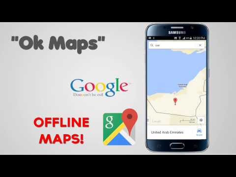 Offline Google Maps on Android or iPhone for Navigation   OK MAPS