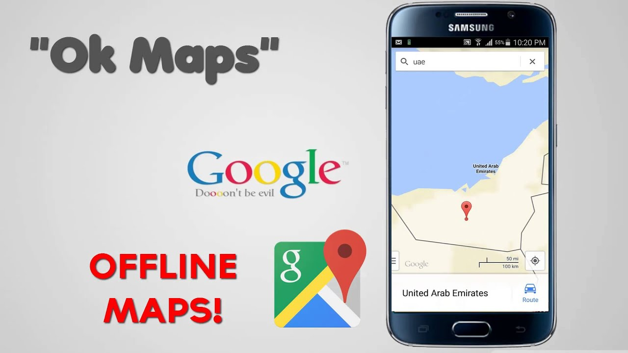 Offline Google Maps On Android Or Iphone For Navigation