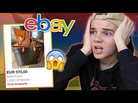 100% ZUFÄLLIG auf Ebay bestellen! 😳 (nur Luxus Marken Challenge)