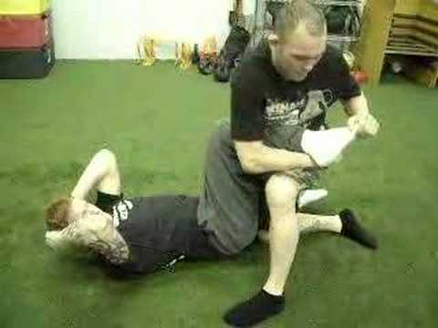 "Chris Leben's ""Showdown at the O.K. Corral"" Toe Hold"