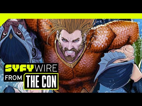 Aquaman Director James Wan Previews The Movie | SDCC 2018 | SYFY WIRE