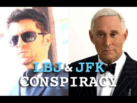 LBJ BEHIND JFK ASSASSINATION SECRET PROOF! CIA MOB & MAC WALLACE! Roger Stone & Dark Journalist