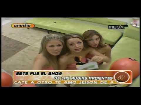 Las Rubias Ardientes -  Fernanda Hansen