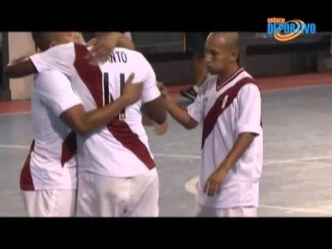 Juegos Bolivarianos: El bronce fue para Perú en futsal