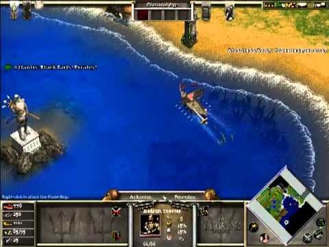 Let's Play Age of Mythology Part 1: The Legend Begins (Omens)