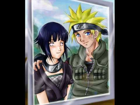 naruto + hinata  (kiss the girl)