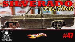 Custom Hot Wheels Chevy Silverado