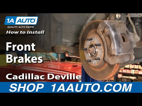 How To Install Replace Brakes on a Cadillac Deville 96-99 1AAuto.com