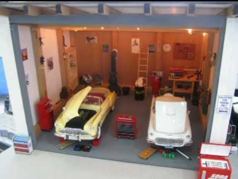 Diecast Model Car Garage Diecast Car Garage 1/18