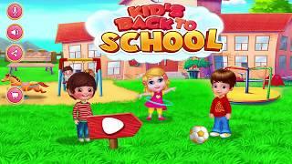 Game Vệ Sinh Cá Nhân – Bé Tự Đi Vệ Sinh, Rửa Tay, Đánh Răng, Tắm, Ăn Sáng Và Đón Xe Buýt Đến Trường