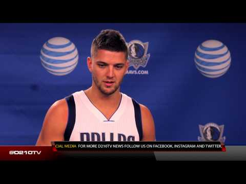 DALLAS MAVERICKS 2014 MEDIA DAY: CHANDLER PARSONS