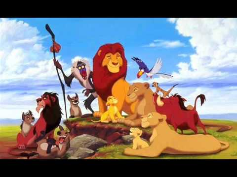 Jungle Book Lion King Lion King in The Jungle The