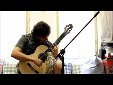 RECUERDOS DE LA ALHAMBRA . Antonio Mascolo - Classical Guitar