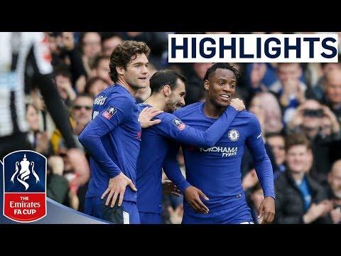 Chelsea 3-0 Newcastle | Alonso Hits Stunning Free-kick! | Emirates FA Cup 2017/18