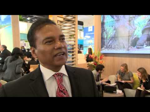 Dr A. Karl Mootoosamy, director, Mauritius Tourism Authority @ WTM 2012