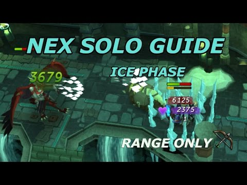 NEX SOLO Guide [Ice Phase] Range Only – Runescape