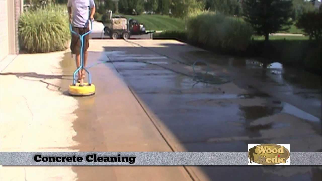 Concrete sealing concrete cleaning driveway sealing for Concrete floor cleaning contractors