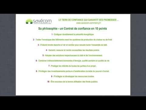 SAVECOM, société coopérative au service de la rénovation énergétique sur le Pays de Commercy
