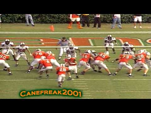 2001 Miami Hurricanes - Greatest Football Team Of All Time