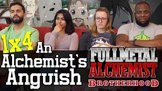 Fullmetal Alchemist: Brotherhood - 1x4 An Alchemists Anguish - Group Reaction