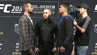 Download Watch CM Punk's first UFC staredown with Mickey Gall 3Gp Mp4
