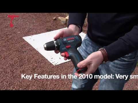 Bosch GSR10.8-2-li Cordless Drill Driver - First Look