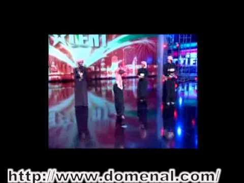 Arabs' Got Talentفرقه عيال زايد الامات رقص اماراتي تراثي برنامج المواهب  العربيه