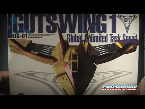 Ultride Mechanics World (U.M.W.) GUTS WING 1 review from Ultraman Tiga