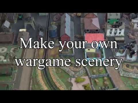 Making scenery for wargames: part one