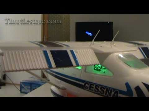 Cessna 182 EPO 156 BL 2.4Ghz RTF - InBox Review ENGLISH Edition