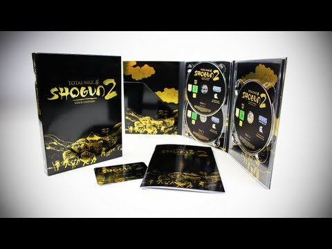 Shogun 2: Total War Gold Edition Unboxing