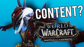 BFA Content: What Is There To Do? - World of Warcraft: Battle For Azeroth (Prepatch)