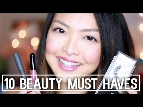 10 Must Have Beauty Products I Can't Live Without + GIVEAWAY!