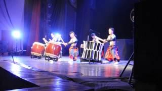 Aska Japanese Drum Troupe Vladivostok 09 04 2014