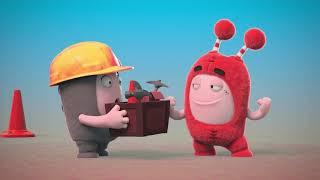 Oddbods Toys 💚❤️💙 Show #39 learn colors Kinder Kids💙💚 lernen Farben lustig  Cartoon Deutsch 2019