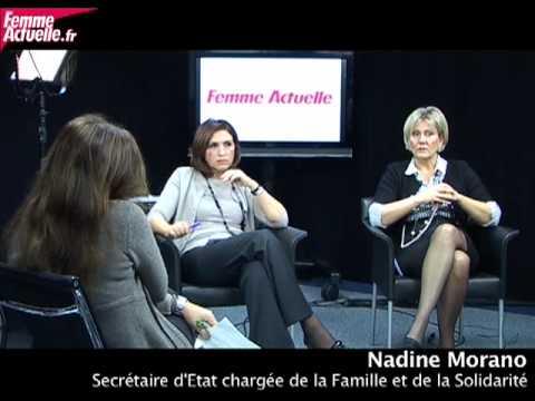 L'interview de Nadine Morano et Nora Berra - YouTube