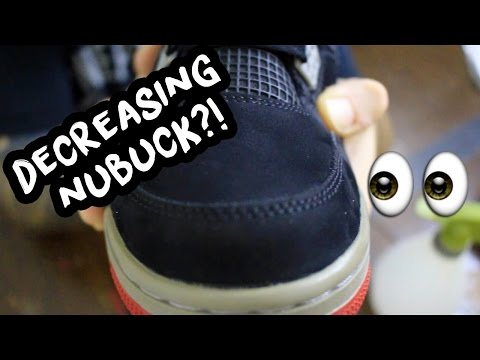 2012 Air Jordan Bred 4 Full Restoration + Nubuck Decreasing & Walkthrough!