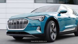 A Closer Look at the 2019 Audi e-tron - Coming soon to Town Audi