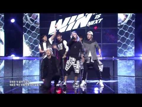 [win : Who Is Next] Team B 1st Battle Round 1 (song Battle) - One Of A Kind - G-dragon video
