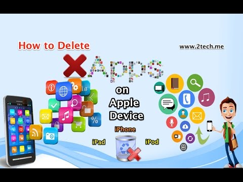 How to Delete Apps on Apple Device - iPhone,iPad,iPod