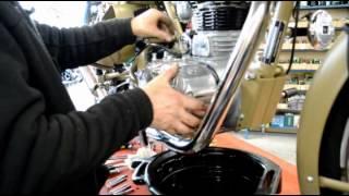 royal enfield 500 classic efi 2012 kit conversion injection carburateur.avi