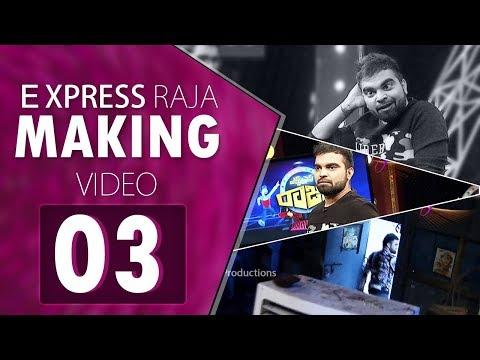 Pradeep Express Raja Making Video 03   BLOOPERS   Behind the Camera   Pradeep Fun HD