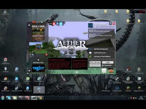How to install minecraft Aether 2 [HD] & Server