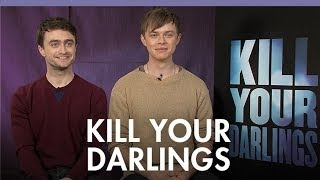 Daniel Radcliffe and Dane DeHaan on kissing and
