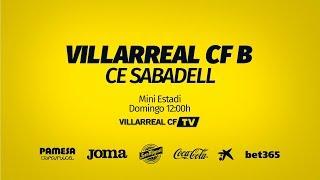Villarreal B vs CE Sabadell