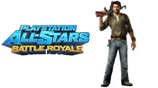 PlayStation All Stars Battle Royale walkthrough - part 1 Nathan Drake Uncharted opening + ending