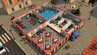 Top 10 Best SIM - TYCOON BUILDING Games of 2018 & 2019 (Build, Manage your Pizza Place)