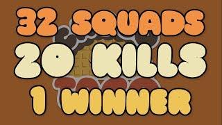 chocoTaco PUBG Game Recap: 3-8 20 Kill Solo Squads